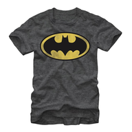 mens basic logo batman t shirt