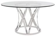 modern dining table clear