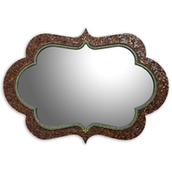 mosiac mirror pallets