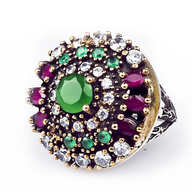 clearance multi color ring