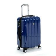 navy blue luggage