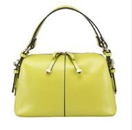 neon green handbag