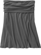 old navy grey skirt
