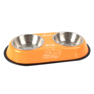 wholesale discount orange pet bowl