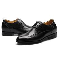 pair black mens dress shoes
