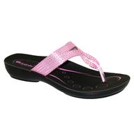 pink black sandels