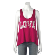 pink love shirt shelf pulls