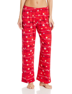 pj pants red