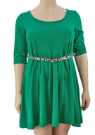 plus size green dress suppliers