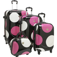polka dot luggage set suppliers