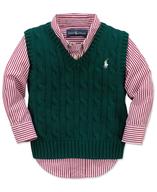 polo boys vest