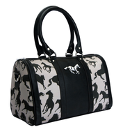 polo club black handbag