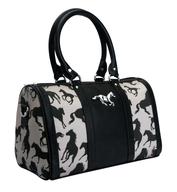 polo club black handbag