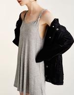 liquidation wholesale pullandbear knotted a-line dress