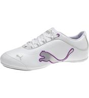 puma womens white purple