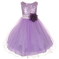 purple childrens dress