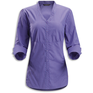 purple womens dress shirt