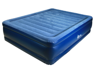 closeout queen blue air bed