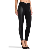 rachel zoe skinny black leggings