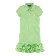 overstock ralph lauren green dress