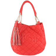 salvage red bebe purse