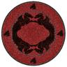 wholesale liquidation red round rug