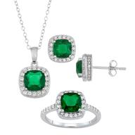 wholesale discount ring pendant earring set
