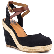 roughntough black wedges