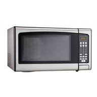 clearance silver microwave