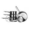 wholesale silver pots pans