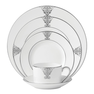 silver ralph lauren china set