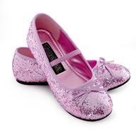sparkle ballerina child shoes pink