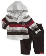 striped hoodie set
