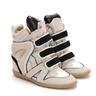 wholesale suede sneaker heel