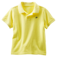 toddler yellow polo