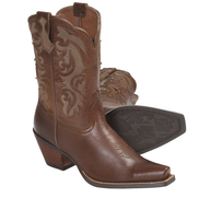 used brown cowboy boots