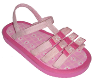 used girls beach sandles