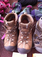 used work boots ssample