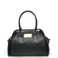 versace italia black handbag