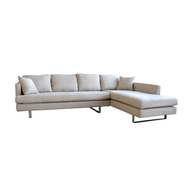 white long sofa