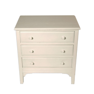 closeout white mini dresser