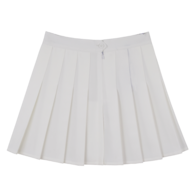wholesale discount white pleated tennis skirt