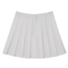 wholesale liquidation white pleated tennis skirt