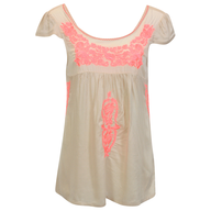 womens blouse beige