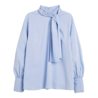 closeout womens blue blouse