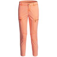 womens orange cargo pants