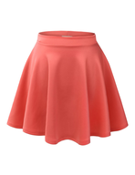 womens orange skirt