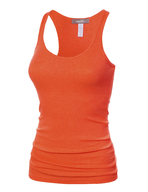 womens orange tank