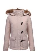 clearance womens pink coat