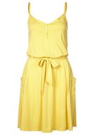 womens yellow dress closeouts